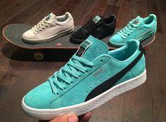 sale retailer 76bdb ca3cd Diamond Supply x PUMA Nike Sb, Les Chaussures À Plate Forme, Paniers,  Nouvelles