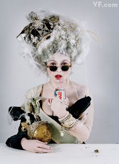 Helena Bonham Carter - Vanity Fair by Tim Walker, March 2011