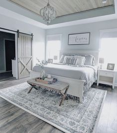 New Trend and So Beautiful Home Design Ideas! Bedroom, Kitchen, Living Room and . New Trend and So Beautiful Home Design Ideas! Bedroom, Kitchen, Living Room and More… Suites, Home Bedroom, Master Bedrooms, Master Bed Room Ideas, Coastal Bedrooms, Farmhouse Master Bedroom, Master Suite, Master Bath, Master Bedroom Makeover
