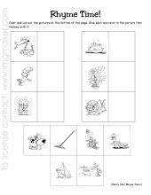 math worksheet : 1000 images about kindergarten rhyme on pinterest  rhyming words  : Kindergarten Rhyming Worksheets Cut And Paste