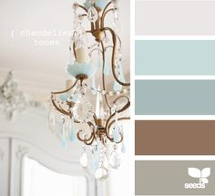 chandelier tones-master bedroom? Like this colors. Having a hard time b/c I love so many different color schemes and all are different from each other!