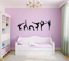 Ballet Dance Ballerinas Stars Custom Vinyl Wall Decals Saying - Custom vinyl wall decals dance