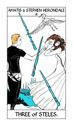 Amatis and Stephen Herondale  The Mortal Instruments