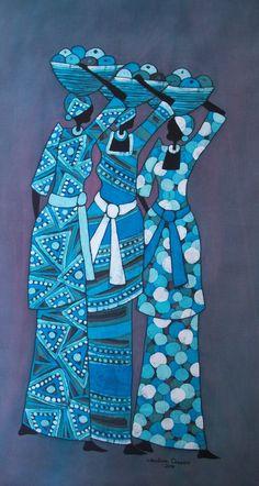 batik art | BATIK ART BY LUKANDWA DOMINIC: JUNE and JULY