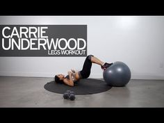▶ Carrie Underwood Legs Workout - YouTube