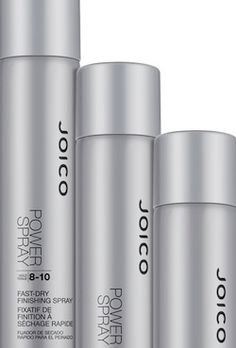 Joico Power Spray... voted the best hairspray on the market by professionals