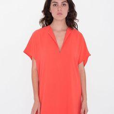American Apparel Coral Ada Dress M/L