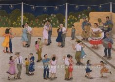 Baile by Carmen Lomas Garza