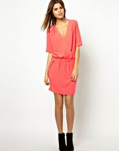 Image 4 ofY.A.S Instant Dress with Wrap Detail and Zips