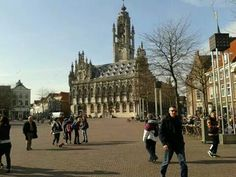 Middelburg,  city hall