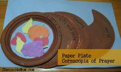 Paper Plate Cornucopia of Prayer by JDaniel4's Mom