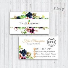 This item is unavailable Young Living Business Cards, Free Printable Business Cards, Esential Oils, Street Marketing, Color Street Nails, Craft Shop, Printed Materials, Fall Crafts, Business Card Design