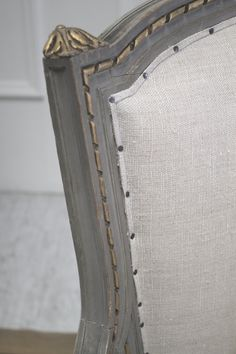 Paris France Cane Settee in Original Paint by FullBloomCottage