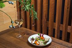 """The Lower East Side's Lowlife is """"a minimalist experience for the neighborhood, and the food, which is cautiously French with some Japanese influences, follows the feeling."""" http://bit.ly/1IZegD9"""