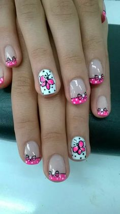 37 Cute Butterfly Nail Art Designs Ideas You Should Try Spring Nail Art, Nail Designs Spring, Cute Nail Designs, Spring Nails, Butterfly Nail Designs, Butterfly Nail Art, Nail Printer, Nails For Kids, Cool Nail Art