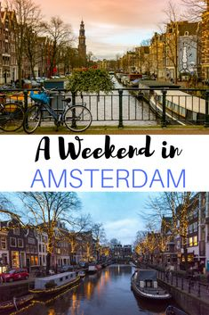 Amsterdam is a city full of canals, bikes, and cafes that's perfect for exploring. Here's a three day itinerary for a weekend in Amsterdam in The Netherlands.