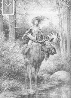 """ALGIZ. """"Moose""""; 2. """"защита"""". соответствует божественной пары близнецов ALCiS,священное животное было лося.имеет смысл более Фаусто: рога оленя с глубокой древности символизировал вечное возвращение; воскресение; весеннее пробуждение.Олень символизирует воскресение как возвращение к изначальной духовной центраФорма руны также напоминает цифру в молитве: руки указывая вверх в жесте вызова. рога оленя с глубокой древности символизировал вечное возвращение; воскресение; весеннее пробуждение."""