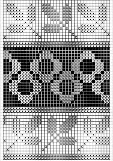 Mustrilaegas: A Kudumine / Knitting Crochet Girls Dress Pattern, Tapestry Crochet Patterns, Fair Isle Knitting Patterns, Needlepoint Patterns, Knitting Charts, Knitting Stitches, Cross Stitch Designs, Cross Stitch Patterns, Motif Fair Isle