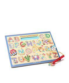 Take a look at this Alphabet Magic Wand Puzzle by T.S. Shure on #zulily today!