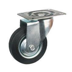 """Transportrollen  Rad-Material: Gummi, PU, Metall Nabe  Größe: 3 """"x 25mm; 4"""" x 30mm; 5 """"x 35mm; 6"""" x 40 mm; 8 """"x 50mm  Belastung: 50 kg - 185kg  Lagerausführung: Nadellager  Typ: Starre, drehbarer Platte, Gewindezapfen, mit Bolzenaufnahme  www.casterwheelsco.com ; sales@casterwheelsco.com"""