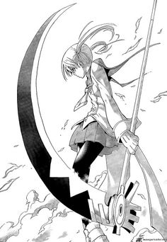 Soul eater. Maka and Soul are my favs ALSO DTK :3