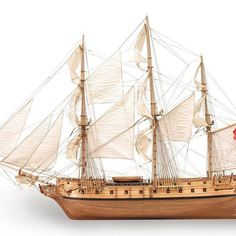 Fun fact: The magnificent HMS Surprise inspired the Aubrey-Maturin series of novels by Patrick O'Brian.