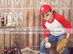 Vintage Baseball Limited Edition Mini Session #babydreambackdrops