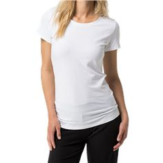 0f301341f0 Tommy Hilfiger Cotton Iconic Short Sleeve T-Shirt - White. Utility Bear · Women s  Loungewear
