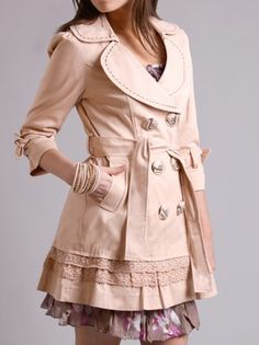 Girly trench $109 by Nick & Mo