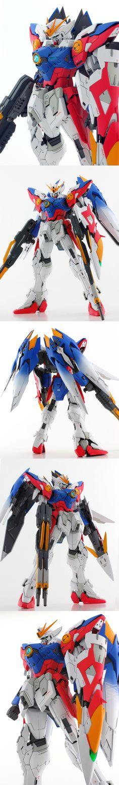 MG 1/100 Wing Gundam Proto Zero EW Kai: Latest Remodeling Work by mat [mat modeling service]