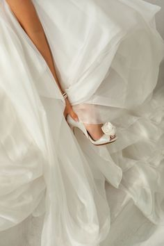 BADGLEY MISCHKA. Bridal shoes from real weddings. Follow us for more wedding ideas at www.photographergreece.com