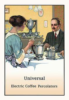 Universal Electric Coffee Percolators
