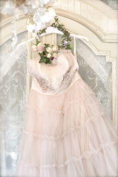 Pink Tulle Vintage dress