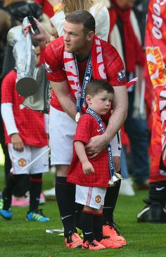 Rooney and son