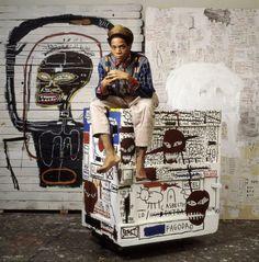 """(A) Basquiat, c'est aussi un style """"total"""" #UneSource"""