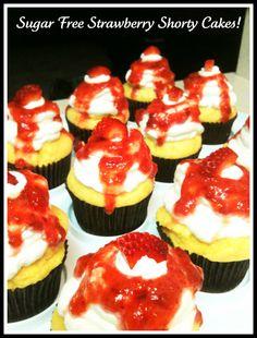 Sugar free pineapple angel food cake diabeticrecipes help links sugar free strawberry shorty cake cupcakes forumfinder Images