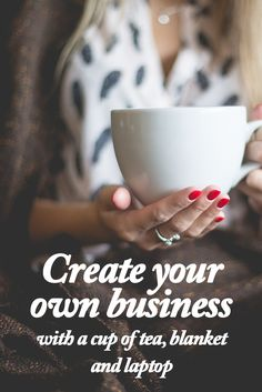 Have you been dreaming about your own business & you're willing to create it while feeling all comfy and nice? You can! http://www.readysetstartfreelancing.com