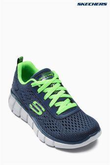 Navy Skechers® Navy Equalizer Knit Sneaker