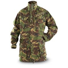 Used British Military Surplus Jacket, DPM Camo (1155×1155)