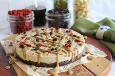 This Rawsome Vegan Life: raw vanilla coffee creme pie with a chocolate crust