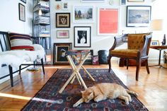 Eclectic Avenue - This sunny Bay Ridge one-bedroom is a total treasure trove @Homepolish NYC