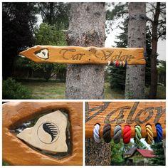 Wood sign - Wheel of Time - Tar Valon