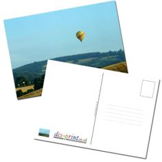 You can print up to 4 postcard designs as samples before placing a full order. You can redeem the £12 when you go onto order your postcards.