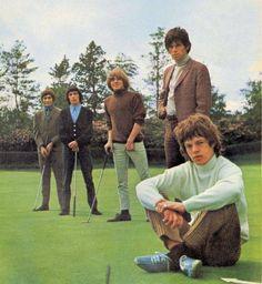 Stones golfing.