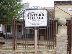 Buffalo Gap, TX Historic Village