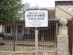 Buffalo Gap, TX Historic Village