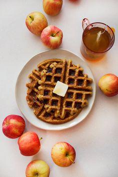 Whole Wheat Applesauce Waffles – A Beautiful Mess