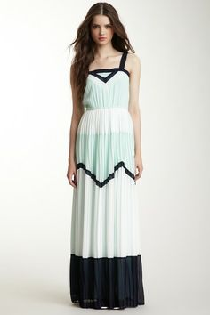 Pleated Maxi Dress by Freeway on @HauteLook