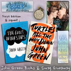 John Green Books & Swag Giveaway