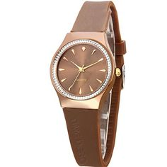 New girl little fashion watchesWaterproof and simple quartz watchL *** Click on the image for additional details.